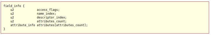 《从openjdk源码分析class文件格式》